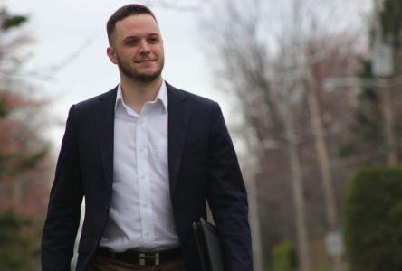 Ludovic Grisé Farand candidat dans le district 4 à Saint-Bruno