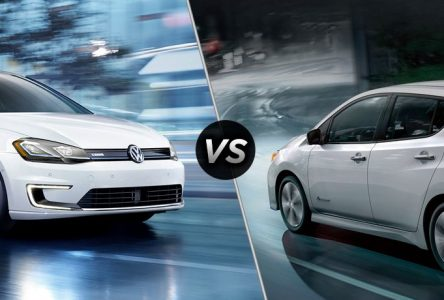 Nissan Leaf 2019 vs Volkswagen e-golf 2019